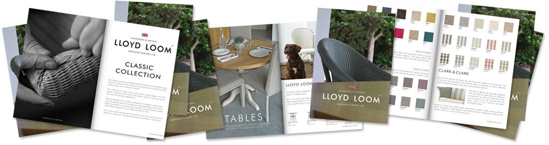 Lloyd Loom Brochure montage