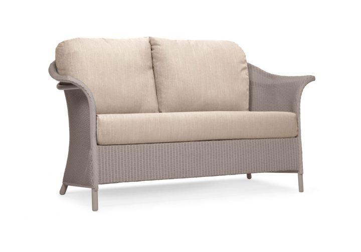 Lloyd Loom Banford Sofa with standard cushions TA011