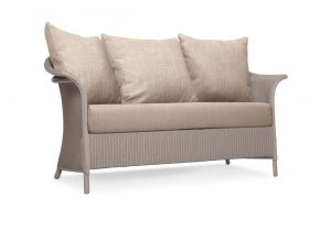 Lloyd Loom Banford Sofa with scatter cushions TA011S
