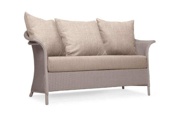 Lloyd Loom Banford Sofa with scatter cushions TA011S