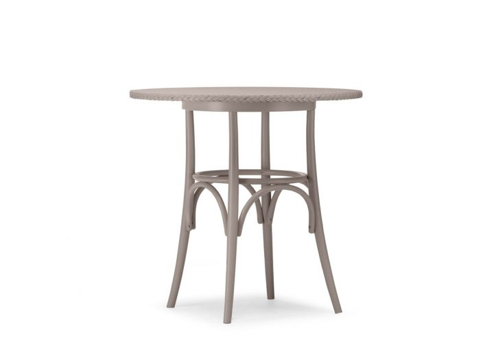 Lloyd Loom Bistro Round Table with Weave Top TT010