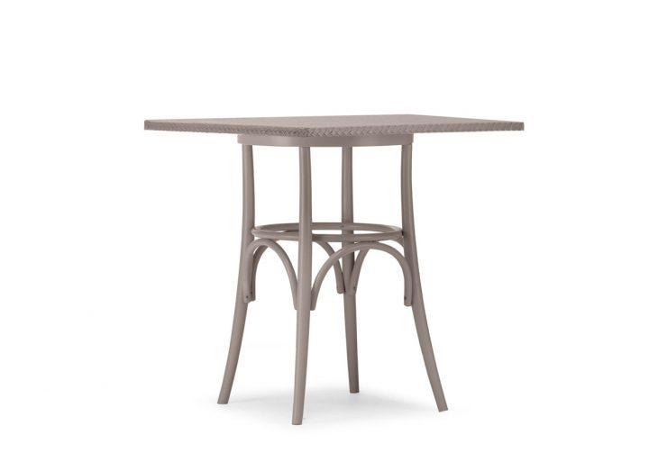 Lloyd Loom Bistro Square Table Weave Top TT011