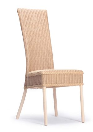Lloyd Loom Cranford Dining Chair with padded weave seat TC030