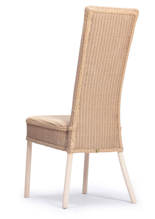 Lloyd Loom Cranford Dining Chair with padded weave seat and double weave back TC031