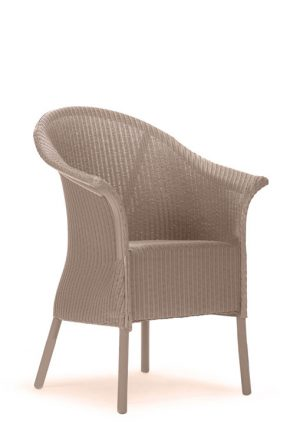 Lloyd Loom Fairbank Wide Armchair with padded weave seat TA001