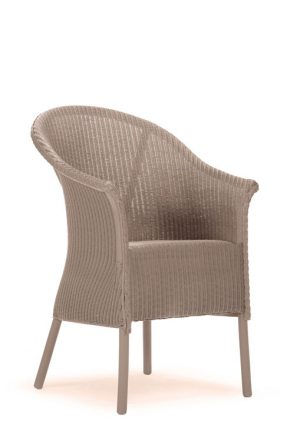 Lloyd Loom Fairbank Slim Armchair with padded weave seat TA002