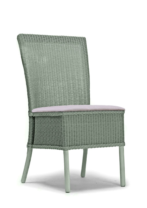 Hadfield dining chair full skirt fabric seat lloyd for H furniture loom chair