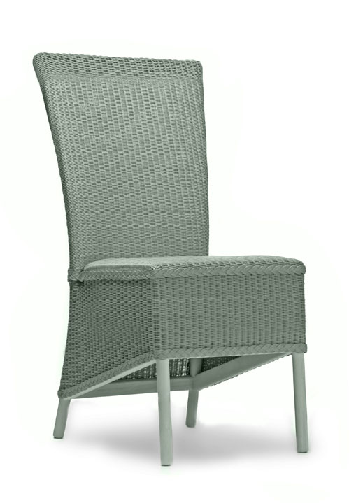 Hadfield dining chair sloping skirt weave seat lloyd for H furniture loom chair