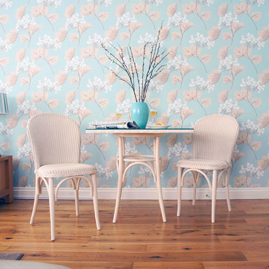 Lloyd Loom Bistro chair and table