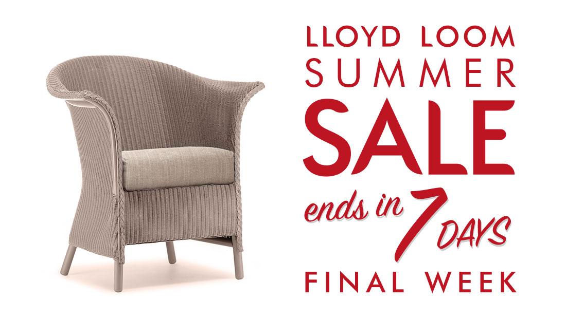 lloyd loom manufacturing lloyd loom sale 7 days left