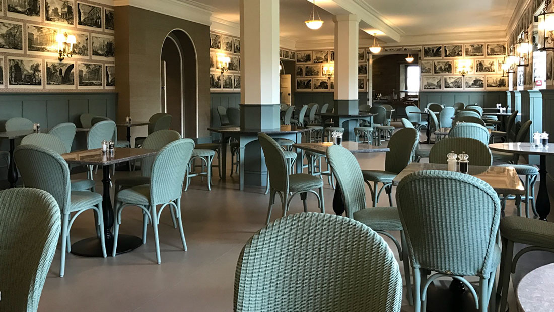 LLoyd Loom Chairs at Castle Howard
