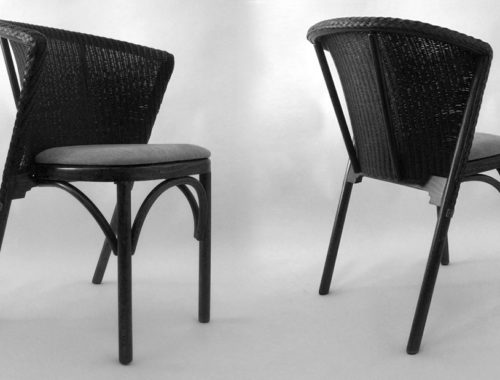 Lloyd Loom William Warren Stacking Chair