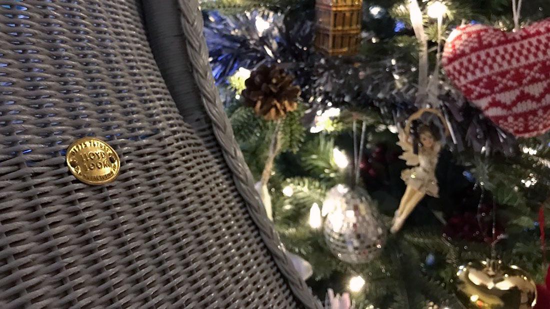 Lloyd Loom Manufacturing Christmas